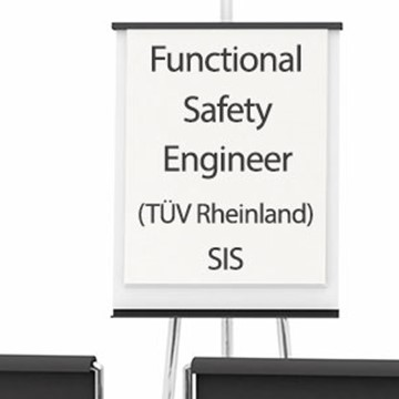 3.5-day Functional Safety Engineer (TÜV Rheinland) SIS certification course