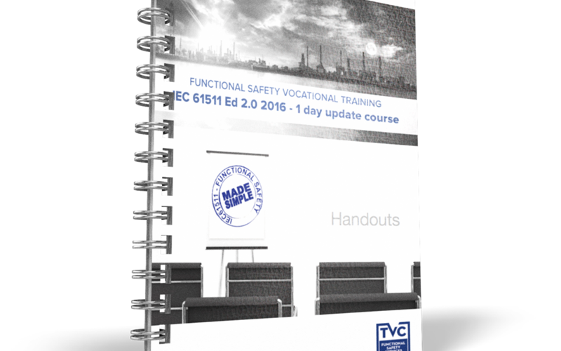 1-day IEC61511 update course